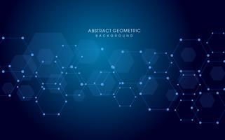 vector background  technology abstract