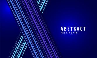 Vecteur abstrait bleu foncé