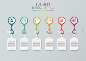 Business data visualization vector