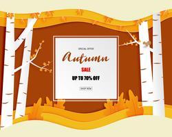 Oferta especial de outono