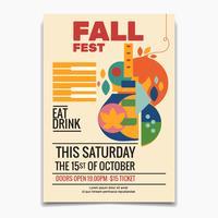 Dépliant du Festival d'automne