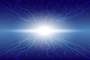 Fondo de tecnología abstracta Fondo digital de comunicación de alta tecnología