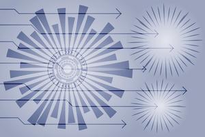 Abstrakter Technologiehintergrund Digitaler Hintergrund der High-Techen Kommunikation