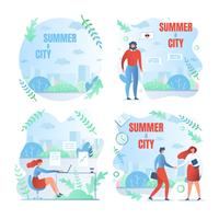 Set of Summer and the City Posters
