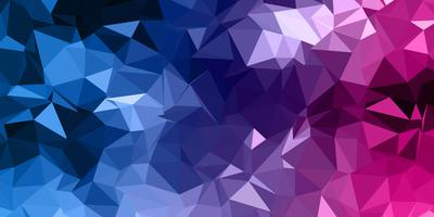 Abstract low poly banner design vector