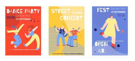 Concertos no Parque Poster Set