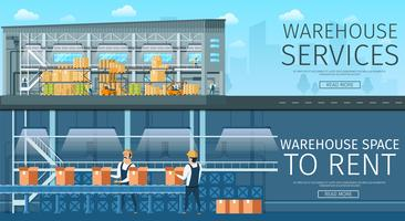 Renting Warehouse Service