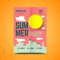 Summer Block Party Poster