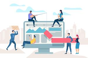 Arbetsmöte förbättra affärsprocessen
