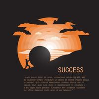 Successful Man vector