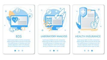 Ensemble d'analyses de laboratoire