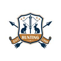 Jaktens sportklubb heraldiska märkesdesign