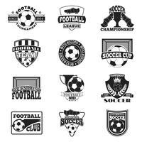 escudo de fútbol Banner de fútbol
