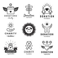 Donations and charity set