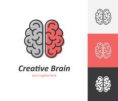 Icona del cervello creativo