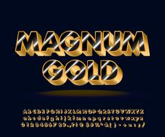 Moderne alfabet set