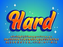 Estilo moderno alfabeto