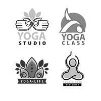 Yoga-Icon-Set