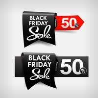 black friday web tag banner promotion sale discount