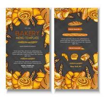 Bakery cover design template