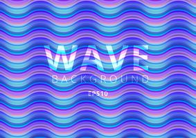 Wave modern colorful flow liquid pattern