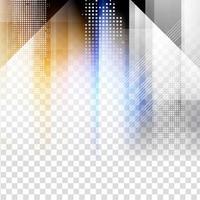 Fond transparent géométrique