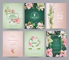 Set of Christmas Brochures and Cards