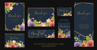 Invitation set design