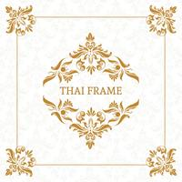 Vector Thai Themed Frame Border