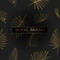 Luxury Background with Gold Color