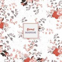 Retro Floral pattern design