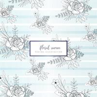 Light Floral pattern design