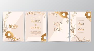 Biglietti d'invito per matrimoni di lusso premium