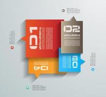 Tags Infographic design template
