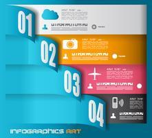 Infographik Entwurfsvorlage - Datenanzeige