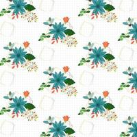 Geometric Floral background design