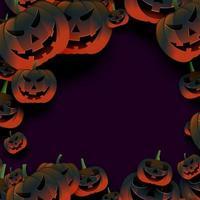 Halloween pumpa ram