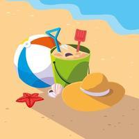 Sand Castle Toys   vector