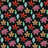 Design de plano de fundo de folha de outono