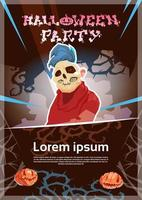 Happy Halloween Party Monster Night Affisch
