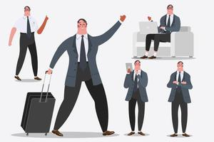 Businessman character design