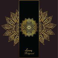 Goldener eleganter Luxushintergrund