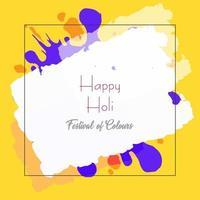 Stampa Happy Holi festival di colore di sfondo