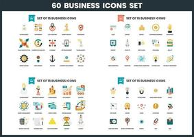 60 Business icons set