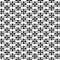 Moderna geometriska sömlösa mönster med blommiga former