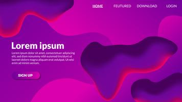 Fondo moderno púrpura degradado abstracto púrpura
