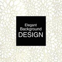 Elegant Shiny  Simple Petal Leaf Background  vector