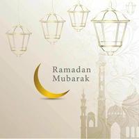 Salutations Ramadan Mubarak religieux