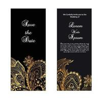 Elegant Save the Date Wedding Invitation Template
