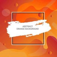 Abstract Orange Gradient Shapes Background